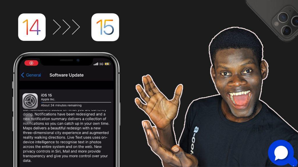 how to update to ios 15